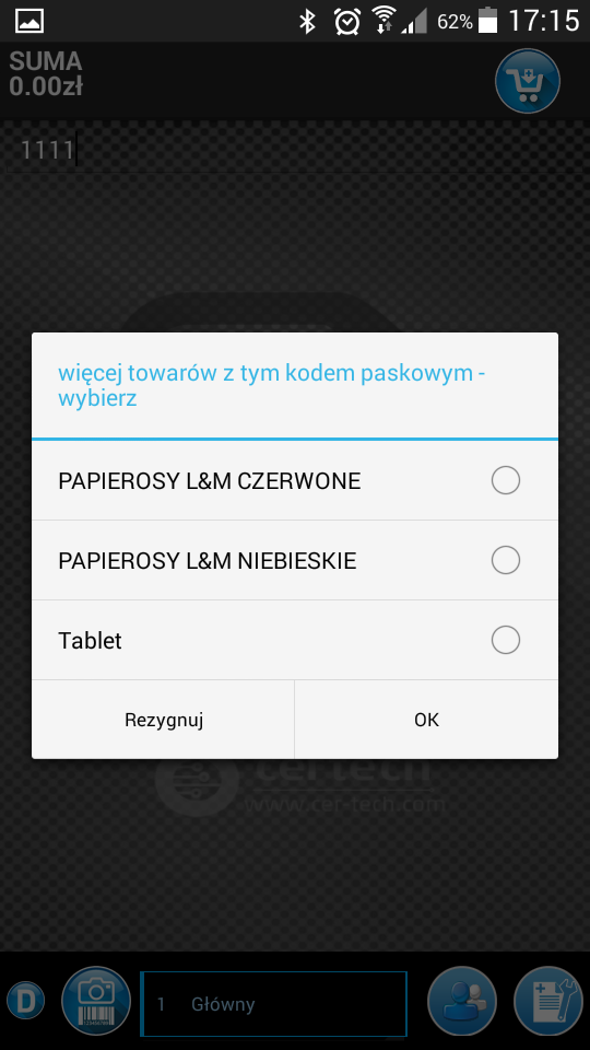 Pomocnik Sprzedawcy zrzut ekranu