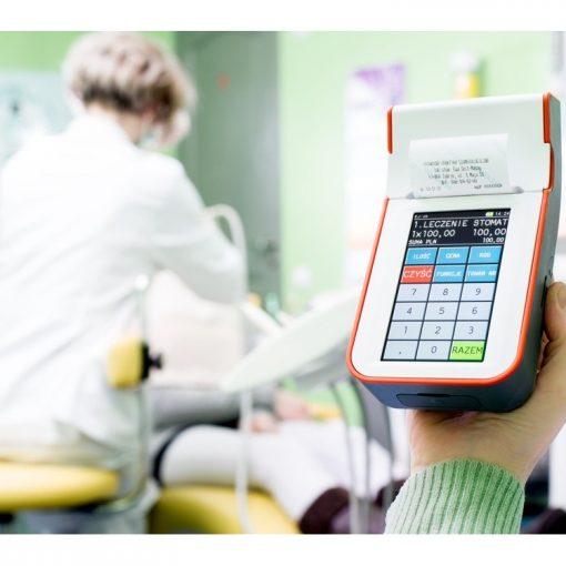 na obrazku widoczna Kasa fiskalna dla lekarza Prima Koszalin