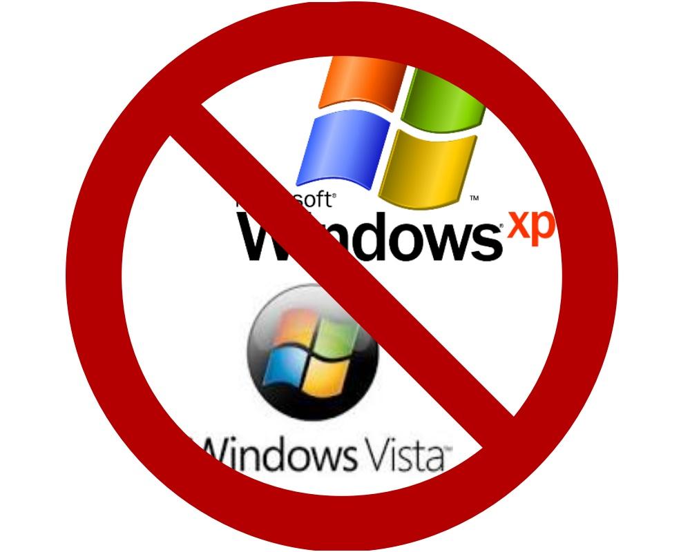 na obrazku Koniec wsparcia dla Windows XP i Vista Prima Koszalin